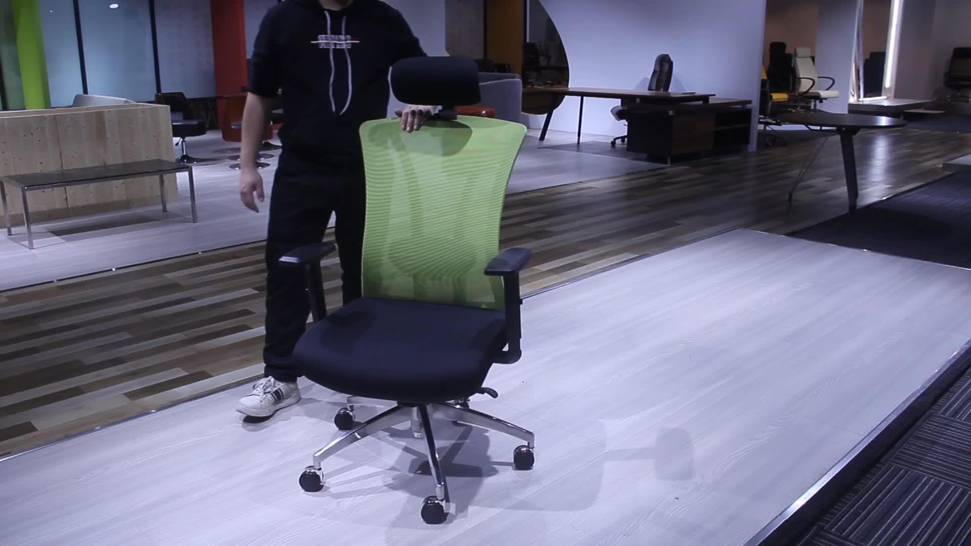 Zeitgenössische swivel boss beste moderne Niedrigen preis hohe zurück luxus ergonomische executive mesh büro stuhl