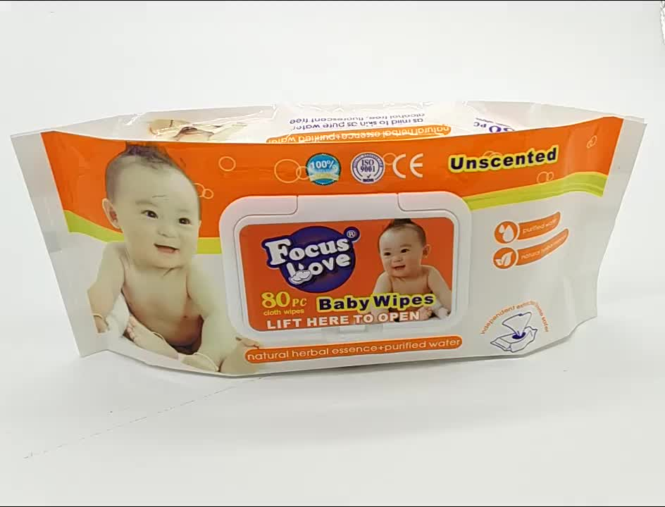 High Quality Cheap Price baby wipes Tender Baby Wet Wipe