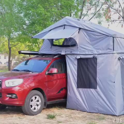 Suzuki samurai 4x4 camping roof top tent sunday campers designed for vehicle ripstop polyester fabric SRT04E-76(5+Person)