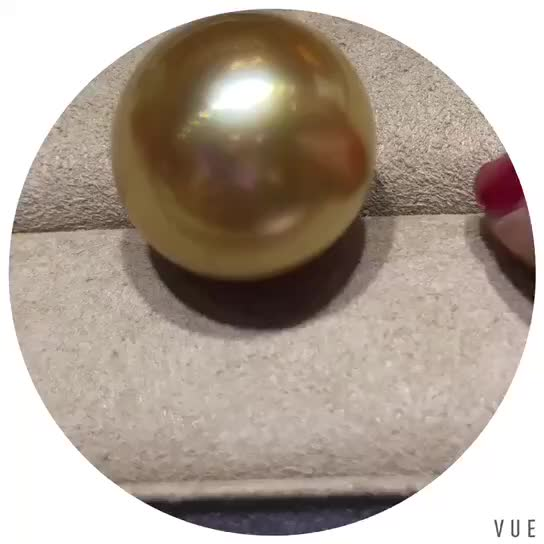 AAAA Grade fashion jewelry south sea gold pearl pendant jewellery necklace designs