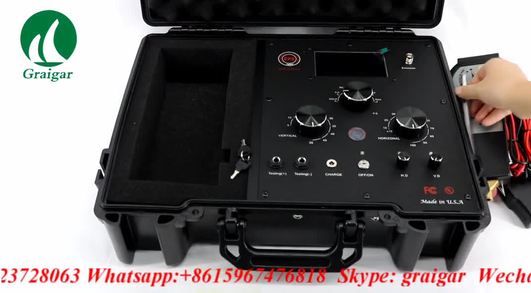 Brand New EPX10000 Digital Frequency Radar Remote Metal Detector CHINA in Promotion