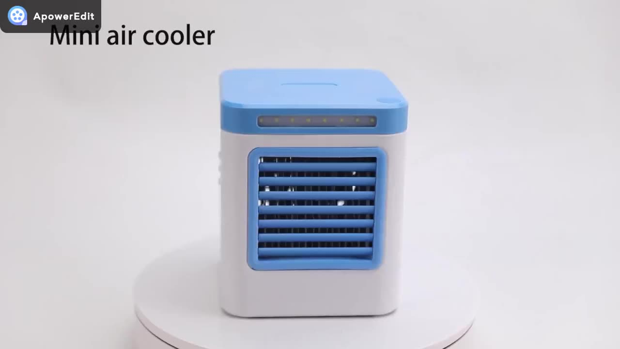 2020 Best selling USB Mini Air Conditioner Humidifier Purifier Room Mini Portable adding water Air Cooler