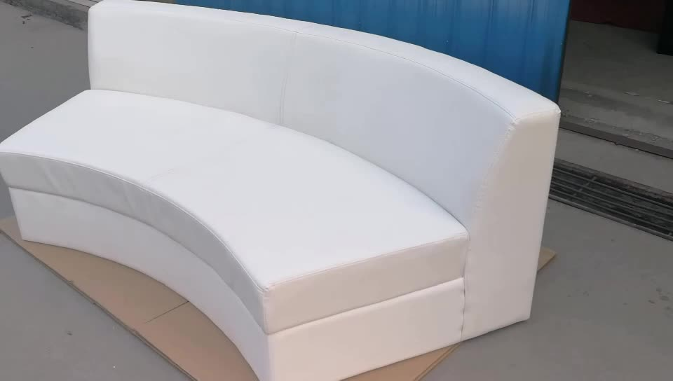 White leather furniture sectional modern sofa
