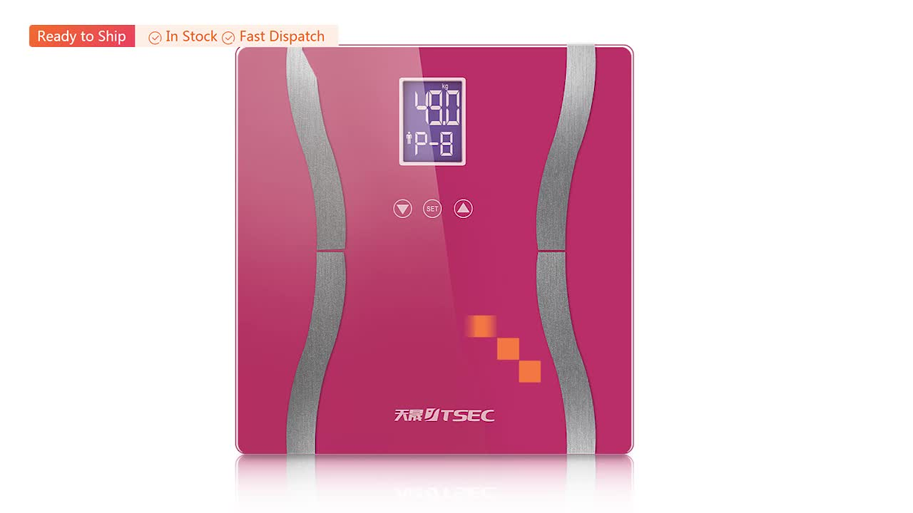 Amazon smart all-purpose electronic body scale directly from factory with competitive price