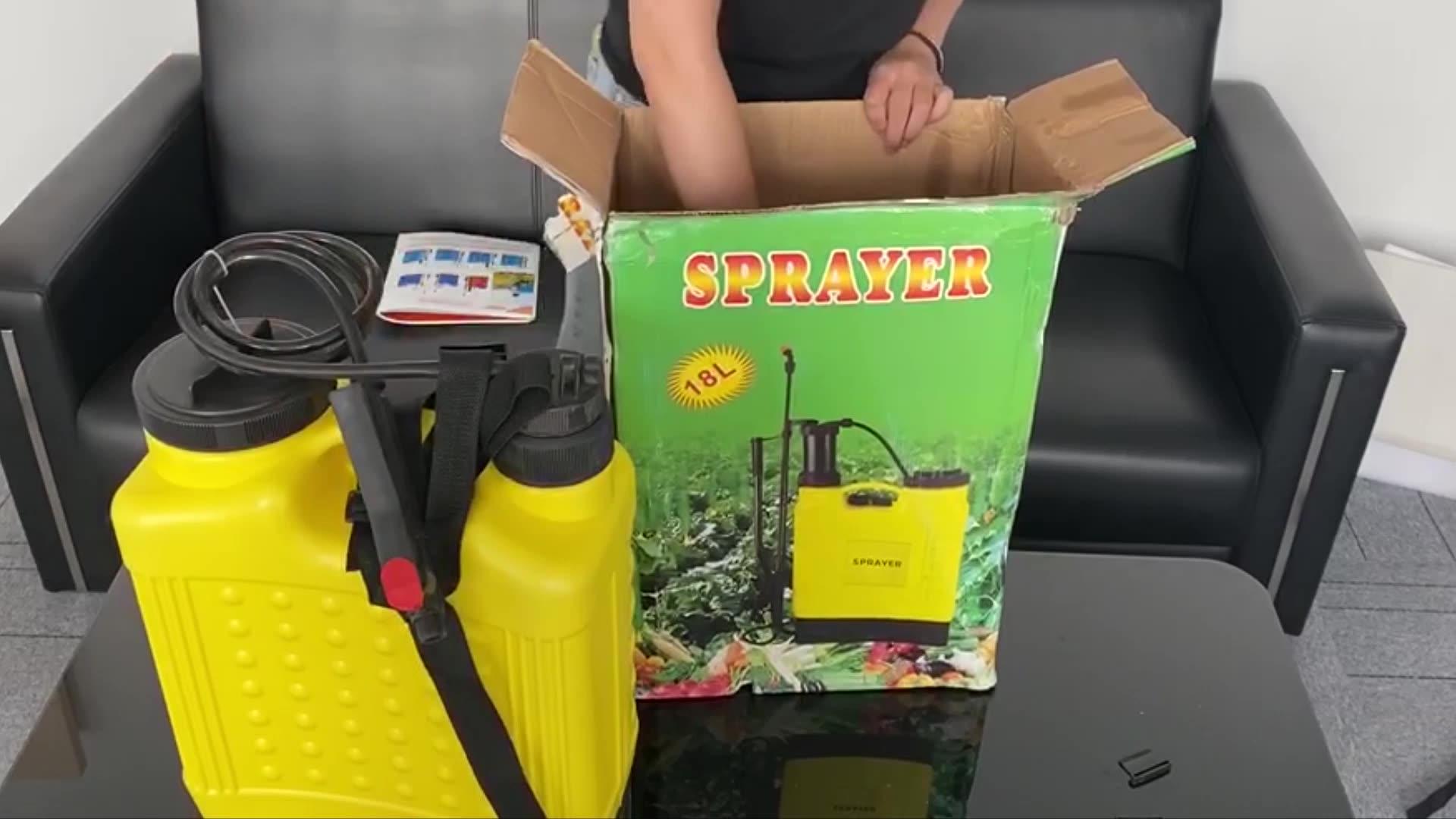 agriculture hand spray machine pesticide insecticide manual knapsack sprayer