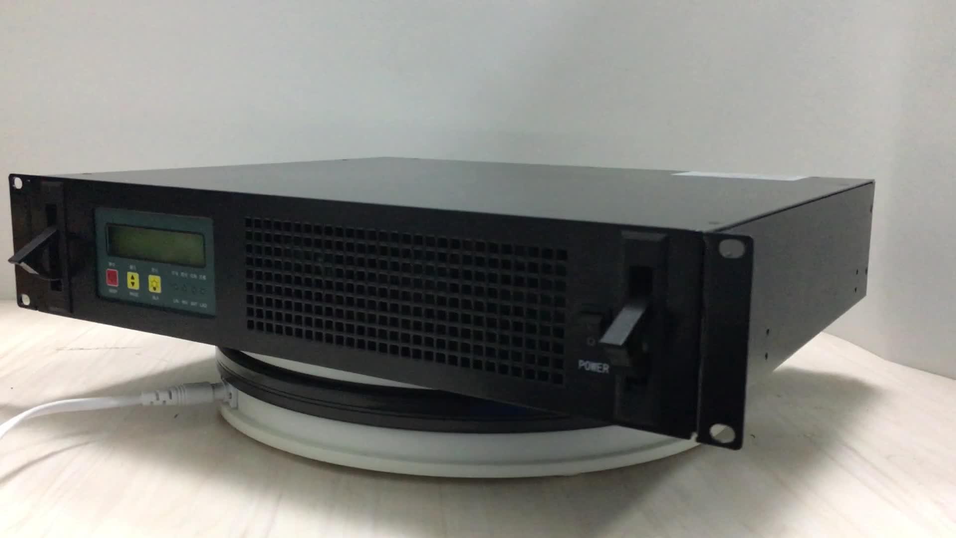 संदर्भ डीएसपी प्रौद्योगिकी 125v डीसी एसी शक्ति औंधा के लिए 2kva संचार कमरे में इस्तेमाल किया