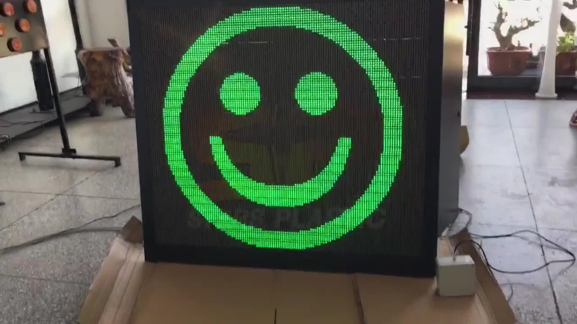 Emoj 顔車スイングソーラー Led レーダー速度看板計中国速度制御制限削除検出器ディスプレイ絵文字顔速度レーダー