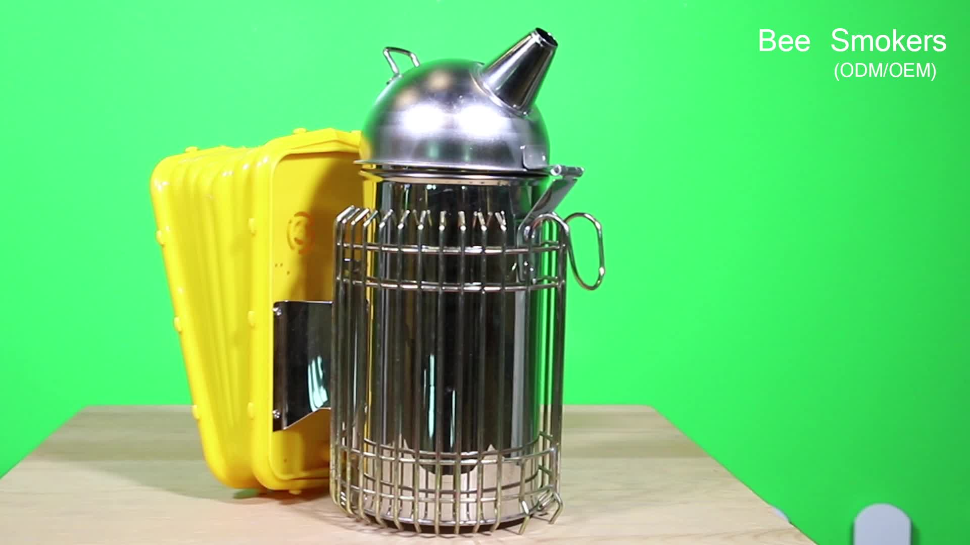 Stainless steel beekeeping tool supplier electric hive smoker for sale