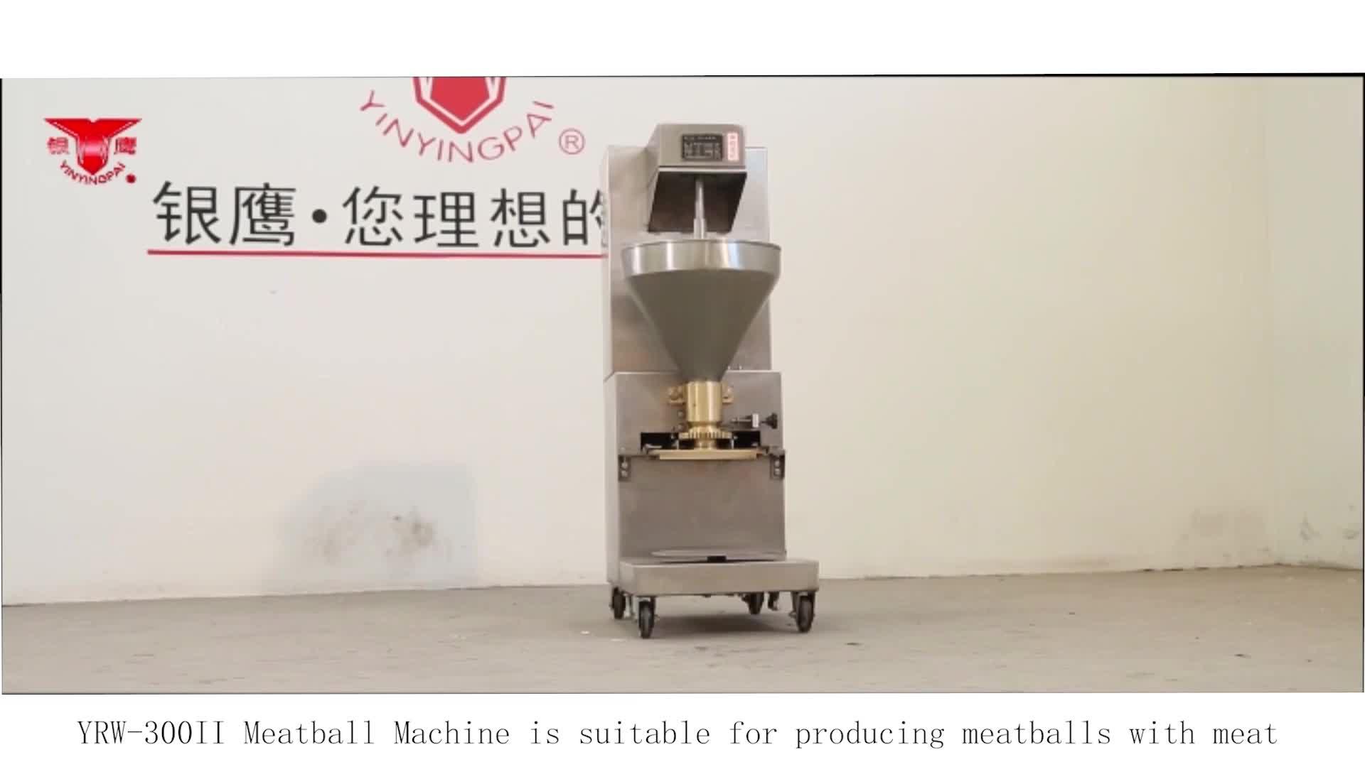 Yinying Factory Supply Automatic Professional Meat Dough Ball Maker/Fish Ball Machine