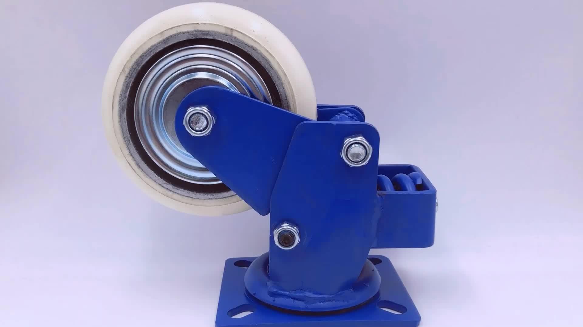 6 polegada rodas de ferro antigo, 150mm de diâmetro 450Kg roda do trole