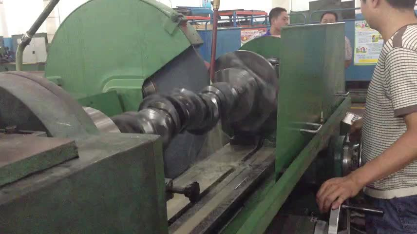 Prince crankshaft grinding machine MQ8260B x 16 for automobiles tractors and diesel engine works