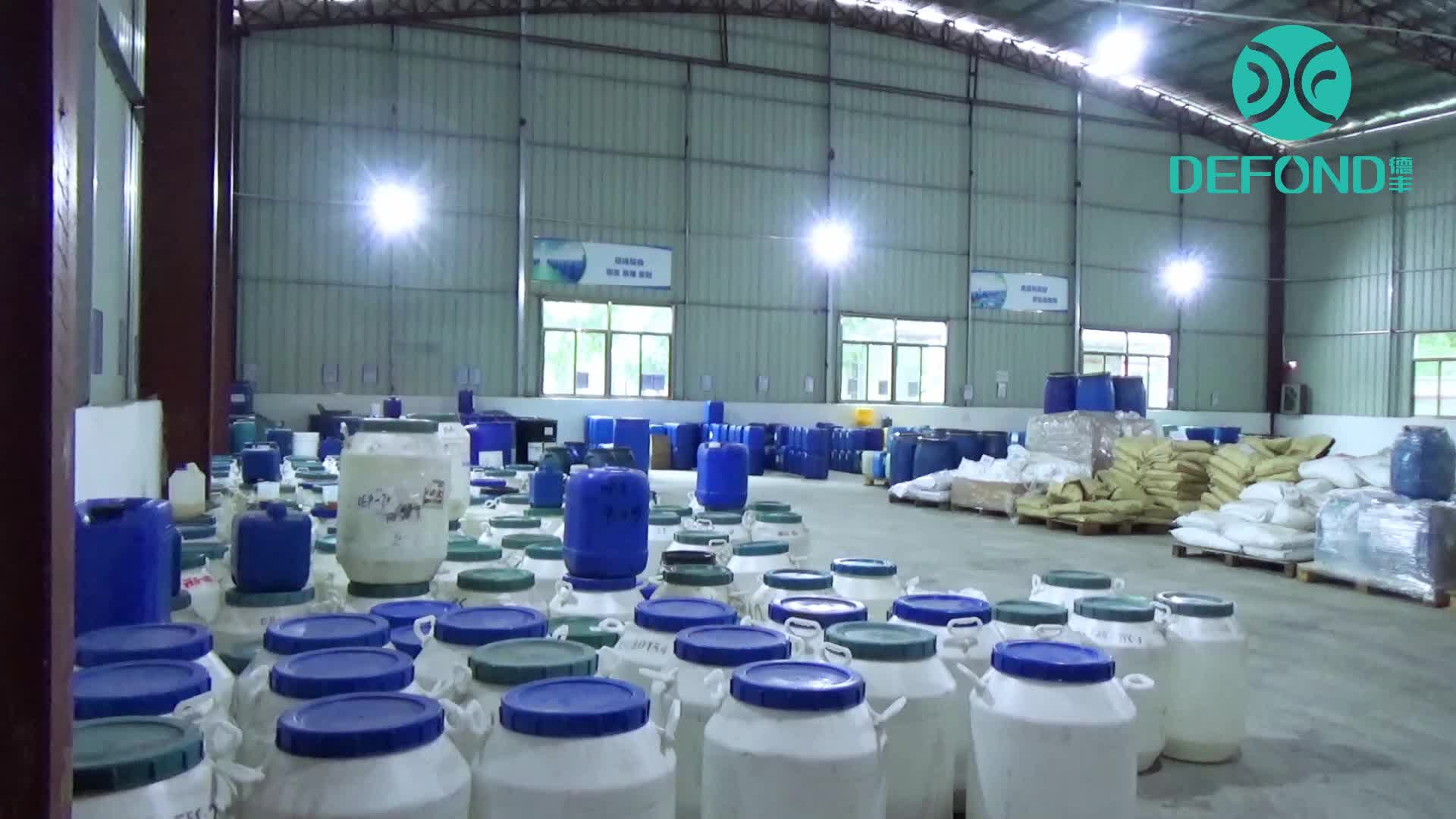 Defeng Quickly Provide Defoaming Solution Water Treatment Anti Foam Agent Manufacturer