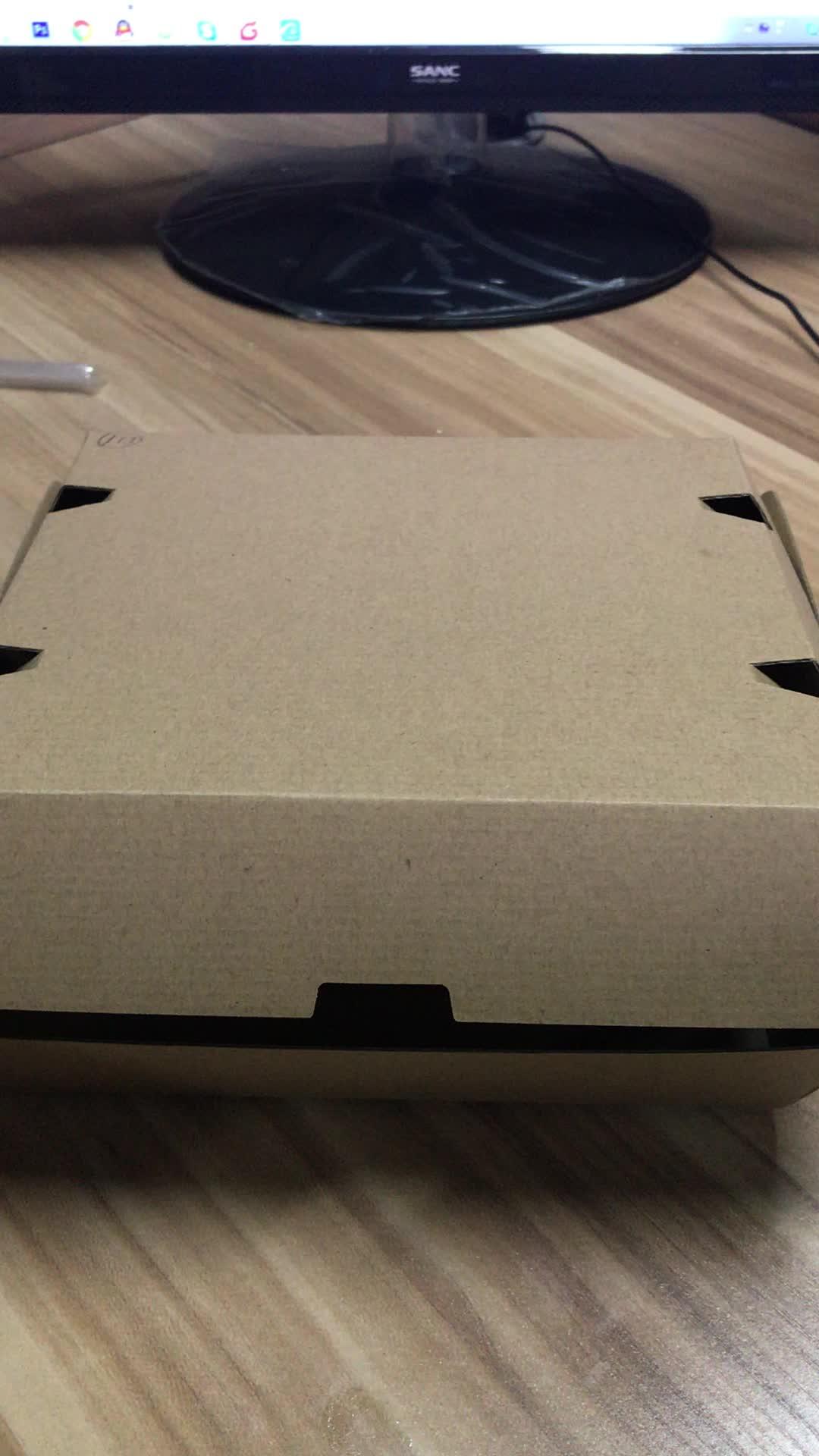 Direct fabriek voor Papier Lunch Dozen nemen away box Burger papier doos