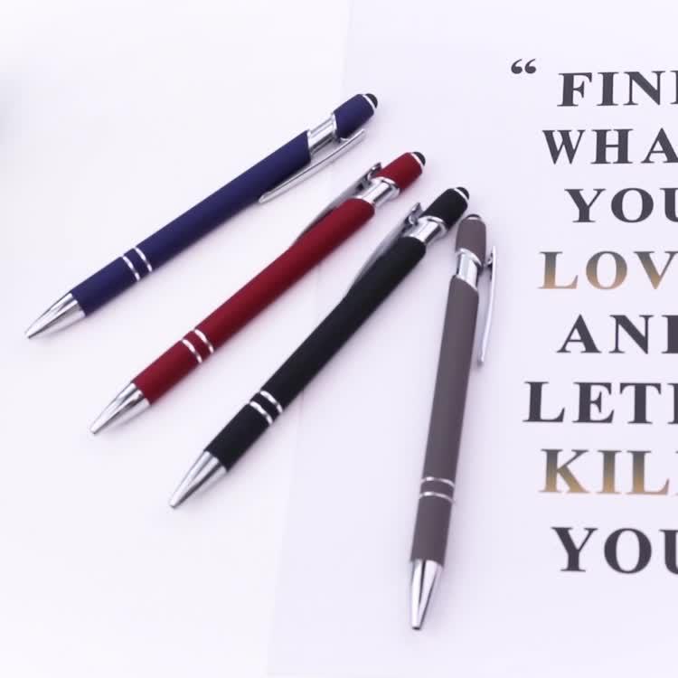 ¡Producto en oferta! Bolígrafo promocional con logo personalizado, Bolígrafo De metal stylus con logo personalizado