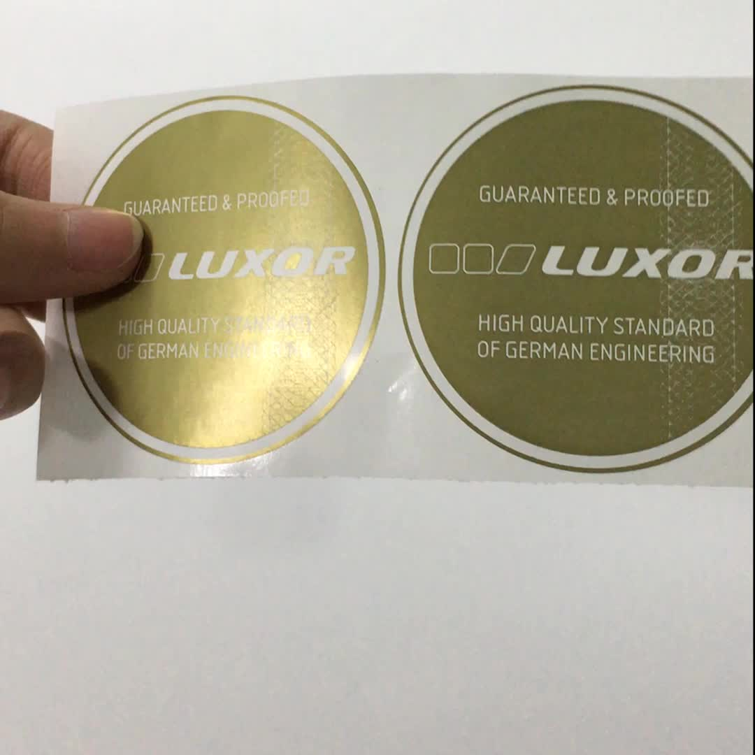 waterproof custom round shape adhesive label stickers for Wedding Birthday Party