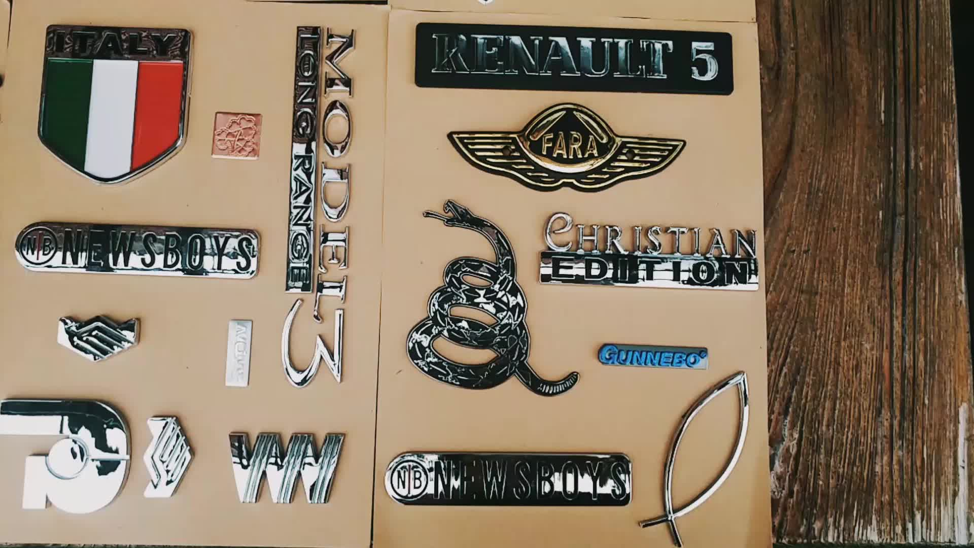 2015 High Quality Promotional Car Badge,Car Emblem,Car logos