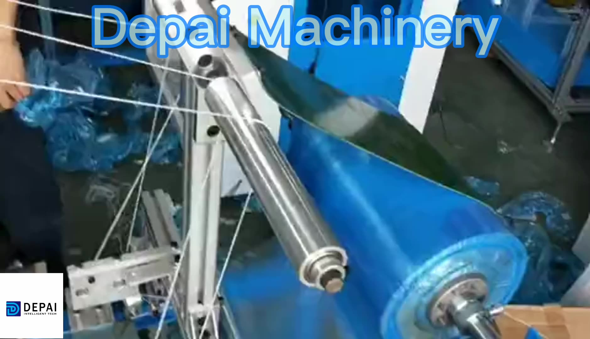 Disposable one time use PE HDPE shoe cover machine manufacturer price