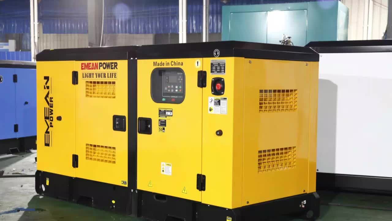 40kw/50kva powered super silent diesel generator with CE & ISO diesel generator portable