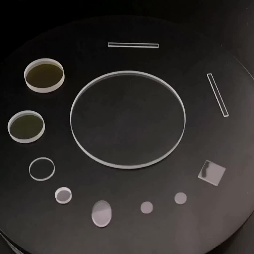 Optical glass lens supplier fused silica /quartz (JGS1 JGS2) window lenses