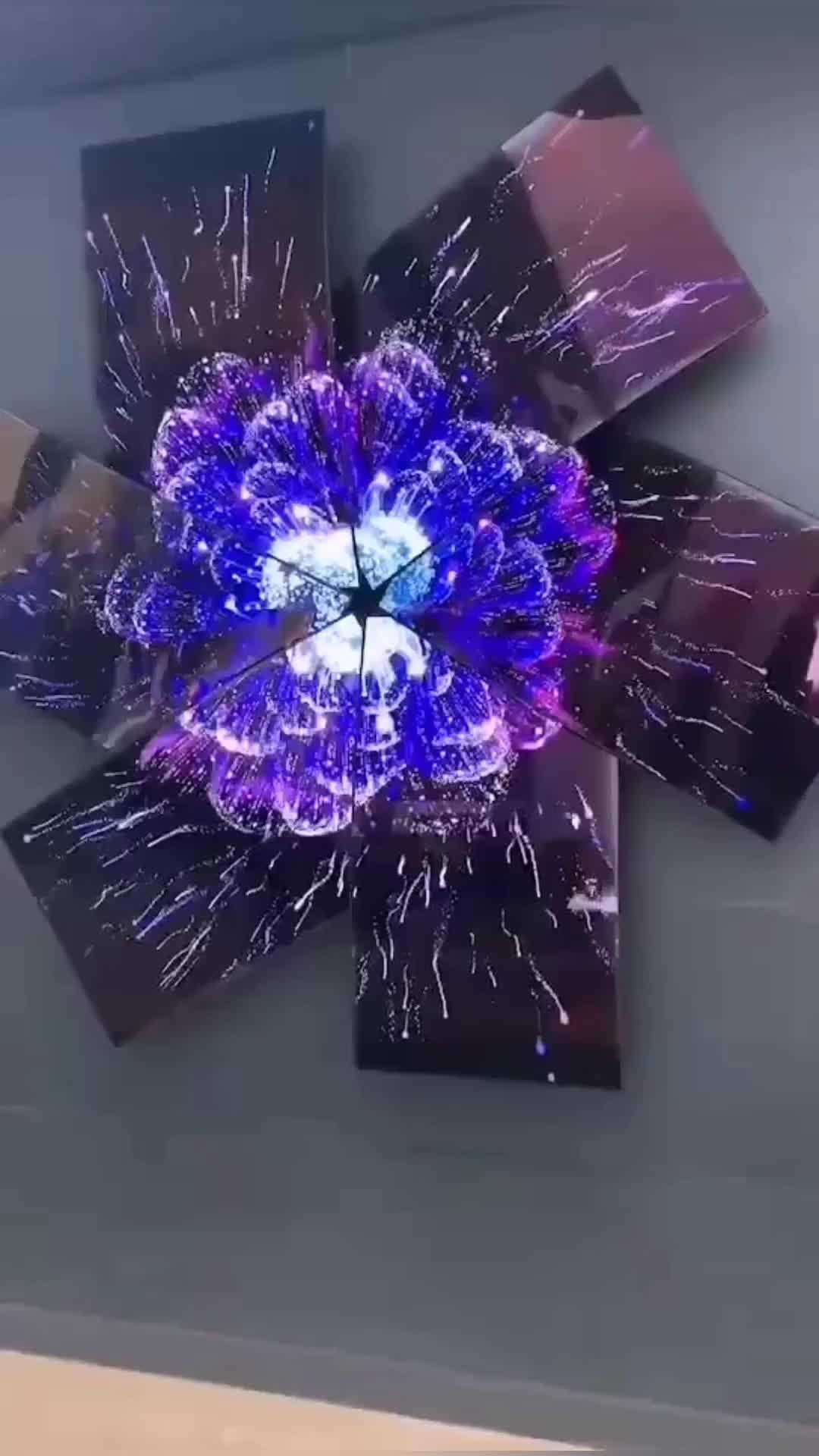 لون كبير 55 بوصة الربط انحناء شاشة عرض OLED مرنة شاشة oled