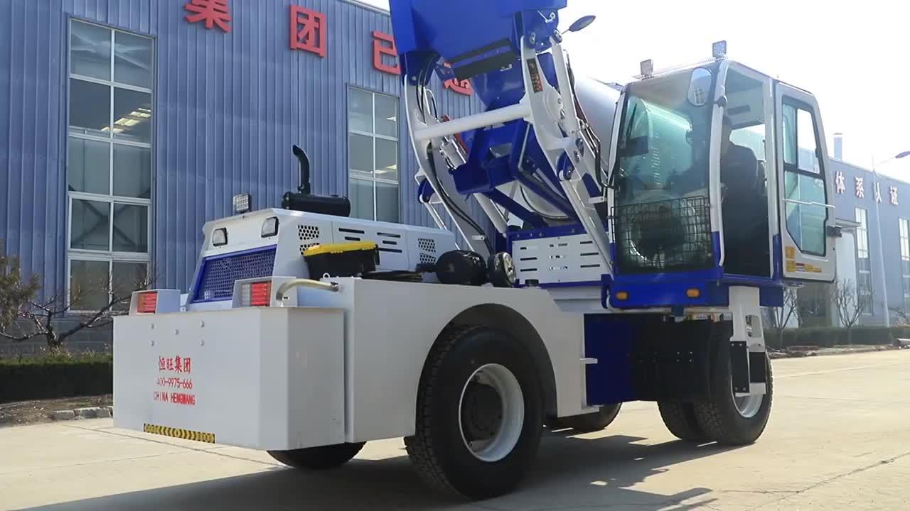 Fiyat beton harç kamyonu makinesi