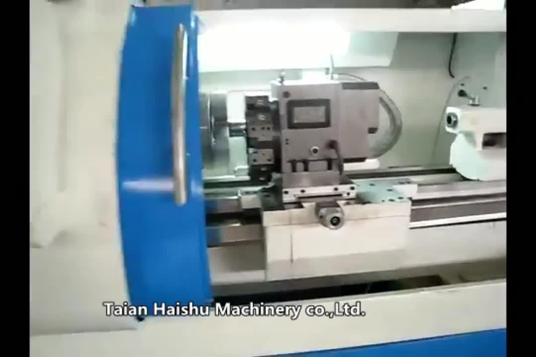 Chine tour cnc machine CK6136A outils mécaniques noms et tour en métal chinois avec tour poupée broche