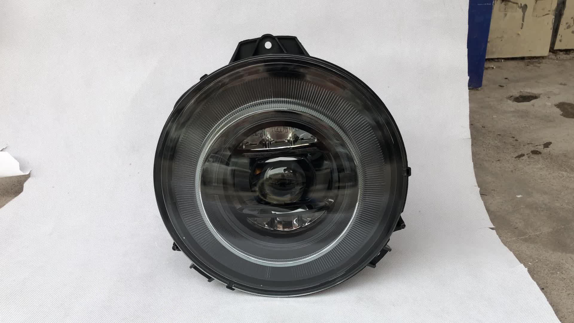 For 1989~2006 M ercedes B enz G-CLASS G65/G63 W463 Head Lamp ,Headlight,Auto Lamp,Chrome