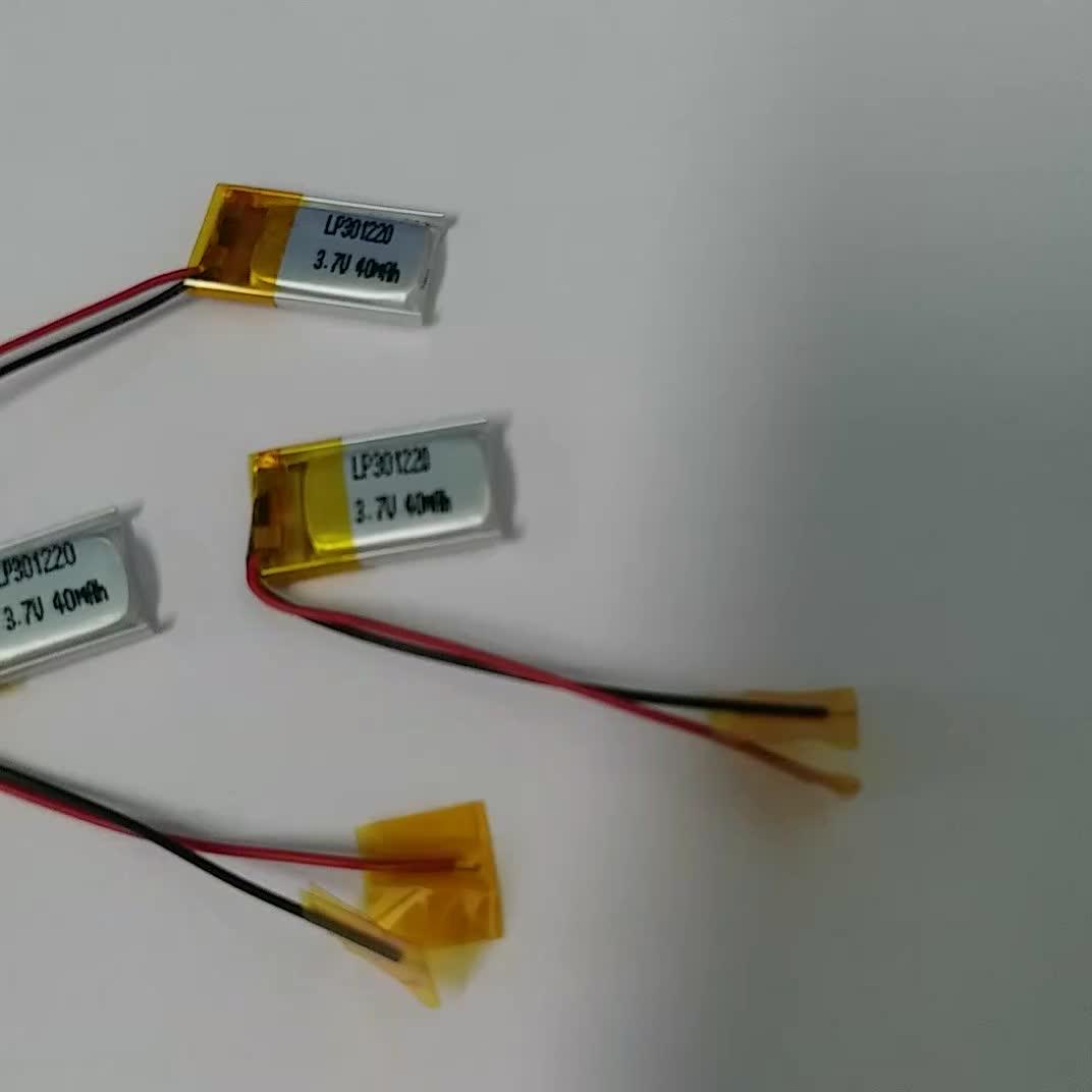 451220 3.7 V dispositif Portable batterie au lithium 60 mah Sport bracelet De suivi D'animal Familier de système 3C fort grossissement