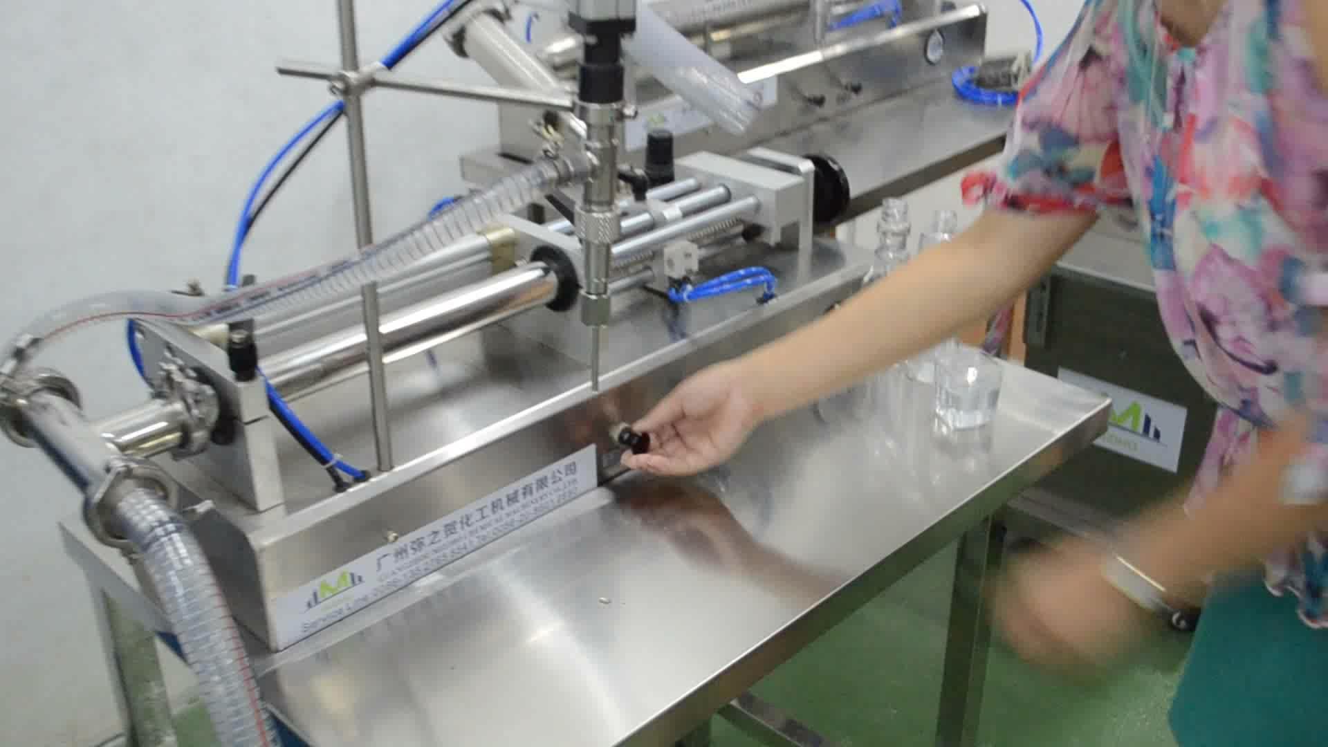 Gel de banho Máquina de Embalagem/Semi-Automática Máquina de Embalagem de Gel de Banho Preço/Máquina de Enchimento Líquido Viscoso