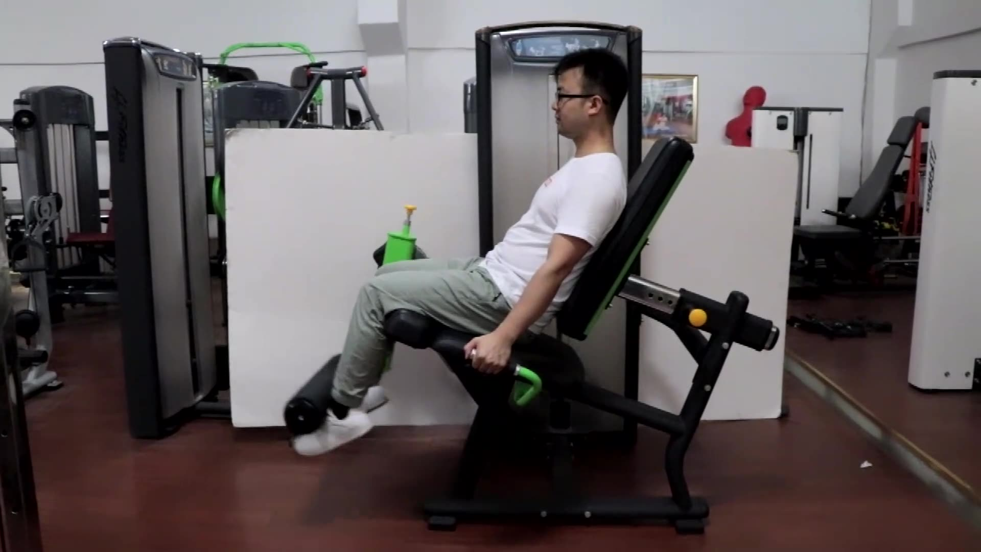 Bodybuilding exercises commercial gym fitness equipment india seated leg extension leg curl shaper machine