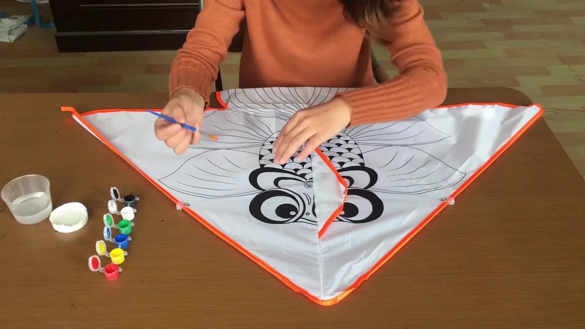High quality  Kids Education  toys chinese Drawing  DIY  kites for sale