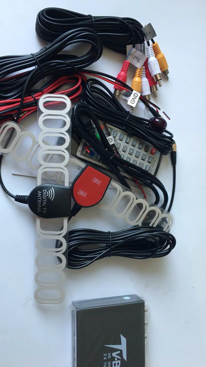 Xe thu tv kỹ thuật số Di Động HD DVB-T2 Receiver box đối với xe w DVB T2 Tuner Hộp Vệ Tinh MPEG-1, MPEG-2, MPEG-4, H.264 giải mã
