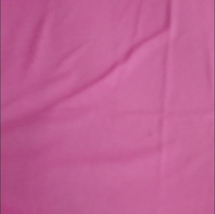 1298 #2019 d'été nouveau tricoté tissu uni 30% polyester 70% rayonne pour T-shirt