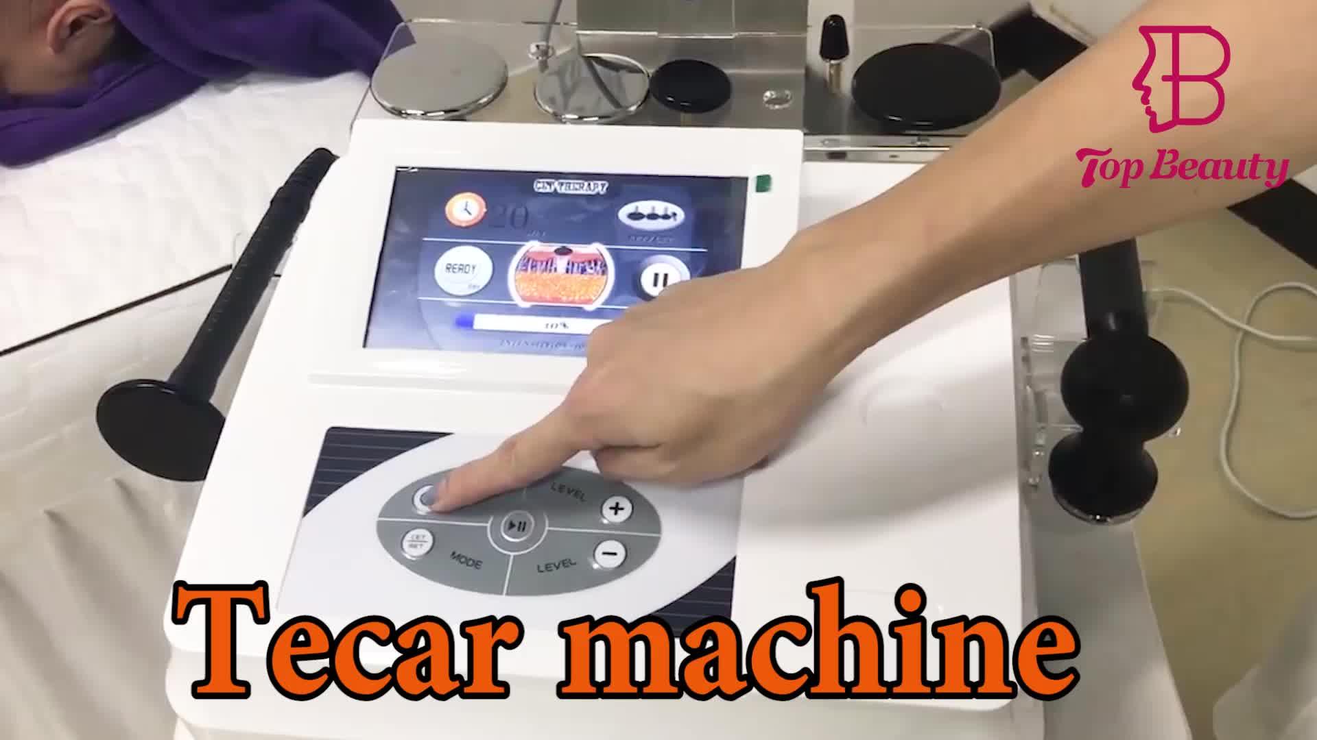 Terapia física tecar/tecar therapi diatermia, máquina de diatermia tecar/tecarterapia