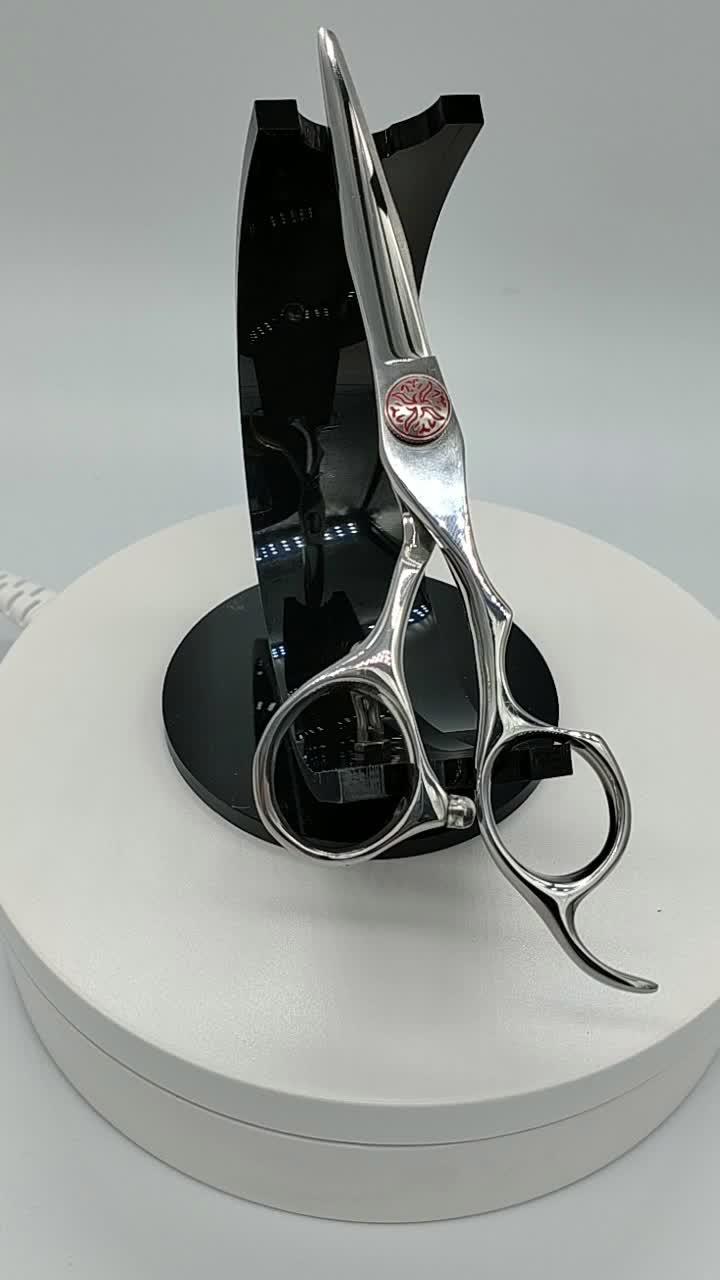 5.5 inç berber profesyonel makas japonya 440C saç kesme makası