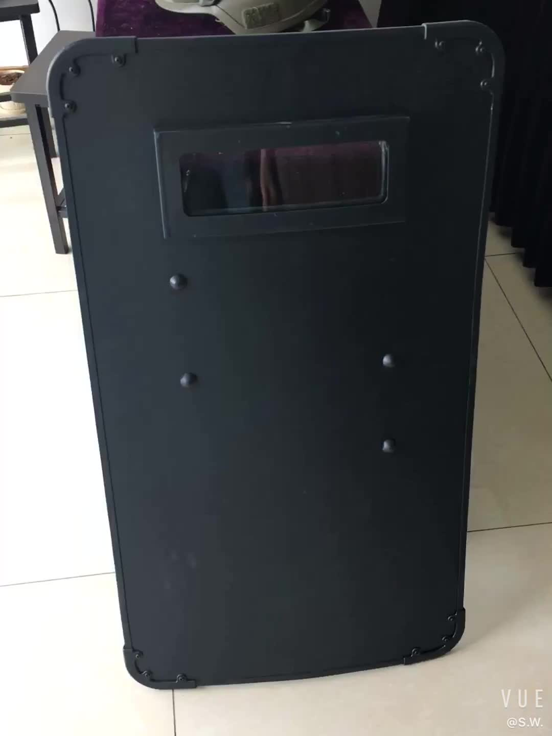 NIJ0108.01 Level III/IIIA PE Bullet Proof Protection Ballistic Shield Police Bulletproof Shield