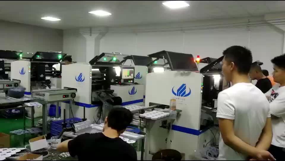 Elektronische Producten Machines Met 20 feeders station en Goedkoopste Prijs SMT pick and place machine