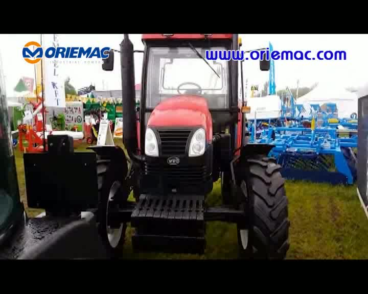 New YTO X904 Model Agriculture 4x4 90HP Wheel Drive 4wd Farm Tractor