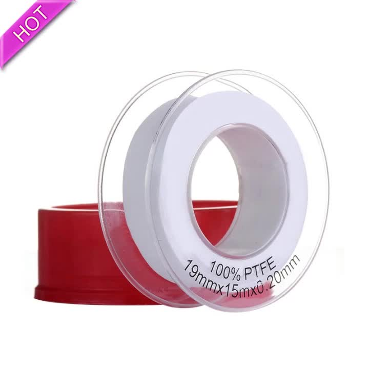 Yellow Ptfe Tape For Water And Gas 12mm Width For Hardware