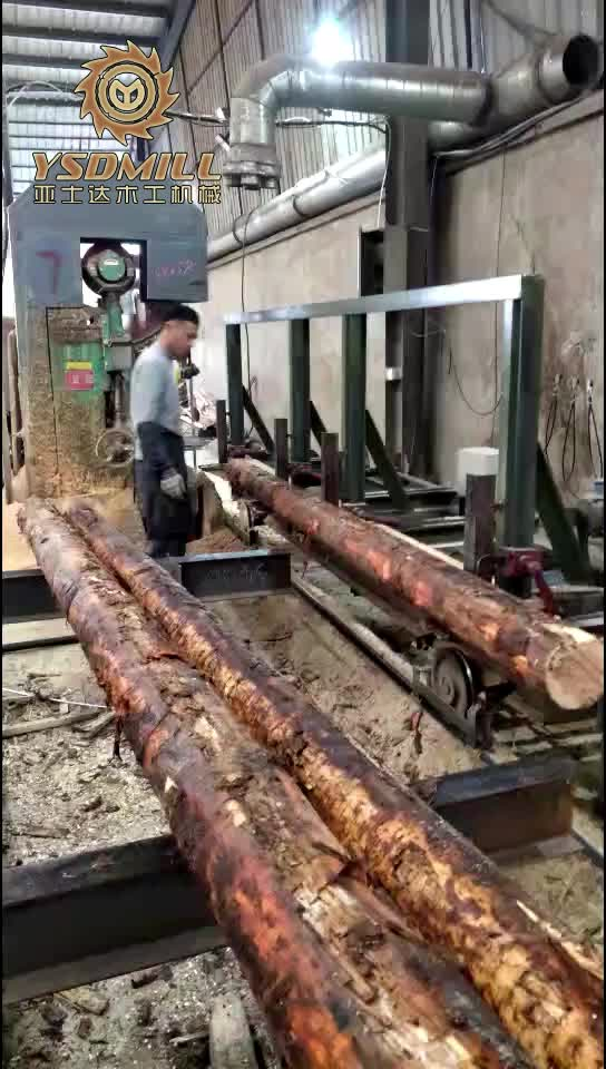 biggest log diameter 1500mm band saw for wood sawmill