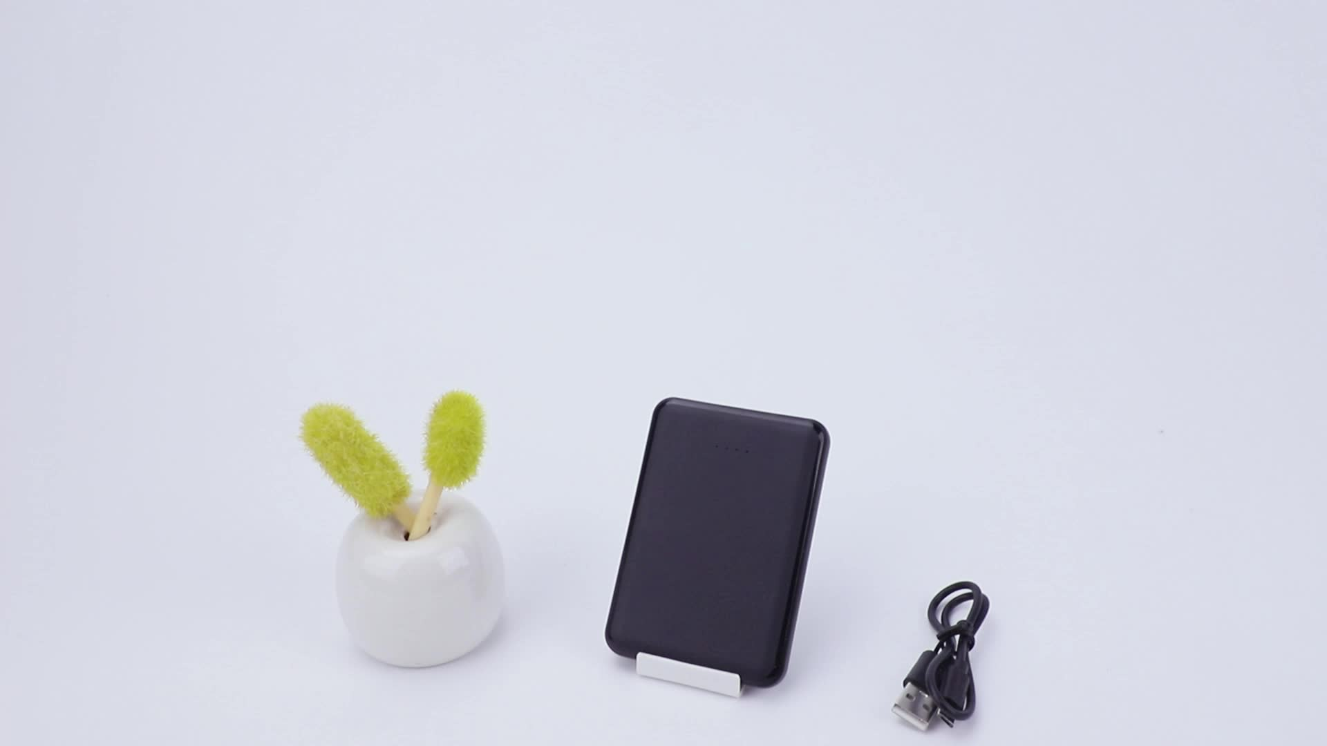 Mini Power Bank 2000mah with Led Backlight Thin Portable Charger