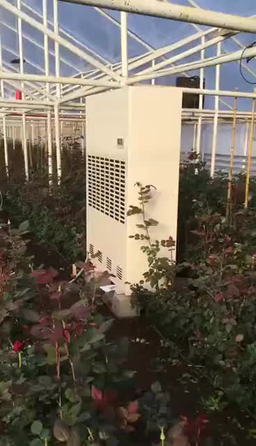 480L/D  customized colors Industrial greenhouse dehumidifier cabinet rentals