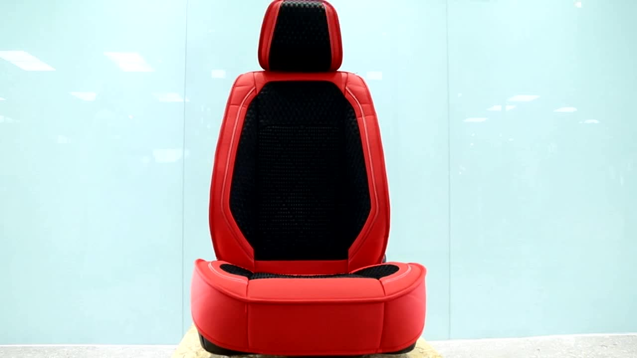 5D Sports Leather Four Seasons Car Seat Cushion