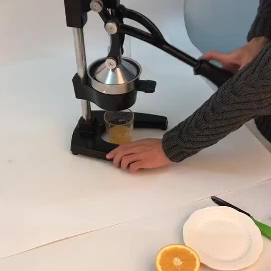 Nieuwe Stijl Hand Druk Fruit Manual Oranje Juicer