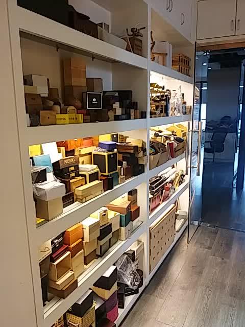 Multiduty de madera de barril grande para supermercado bar