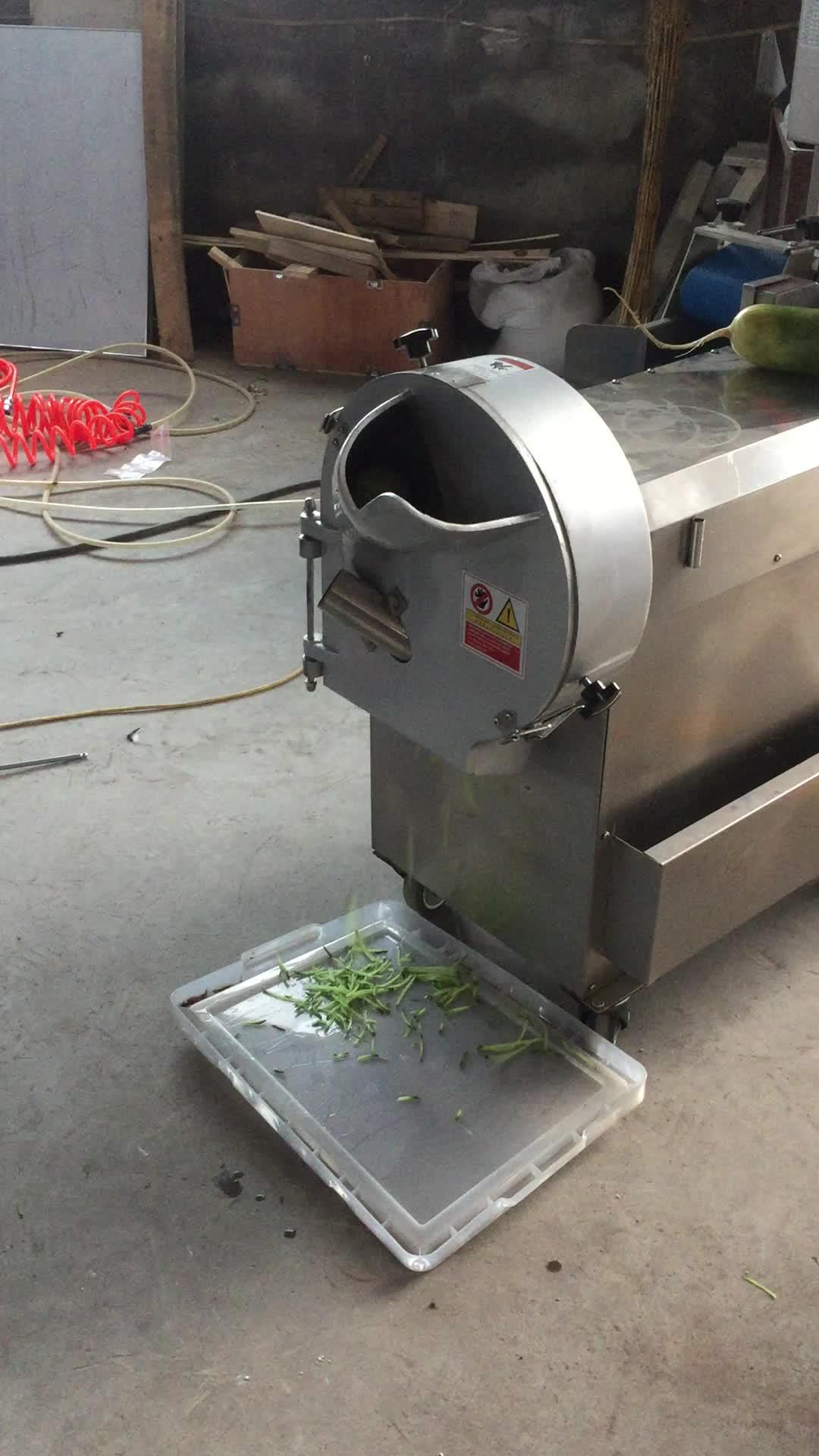 Green leafy vegetable commercial cabbage shredder beet cutter machine