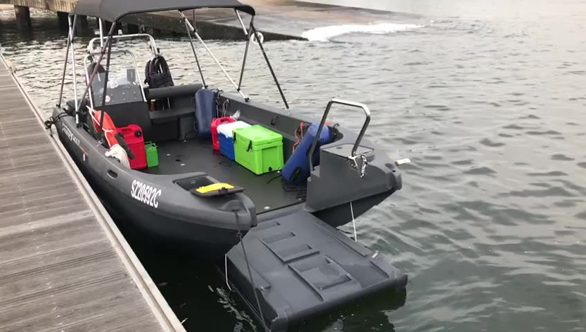 Pioner Multi work boat