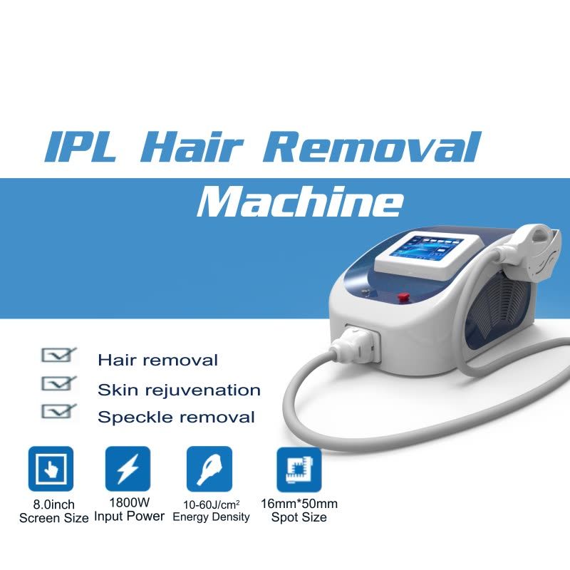 Fast treatment shr multifunction skin rejuvenation machine laser ipl portable hair removal