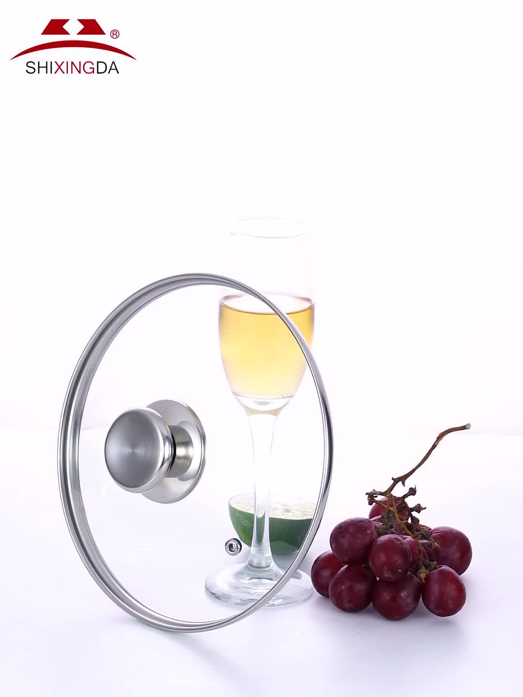 temperli cam kap kapağı / cam tava kapağı