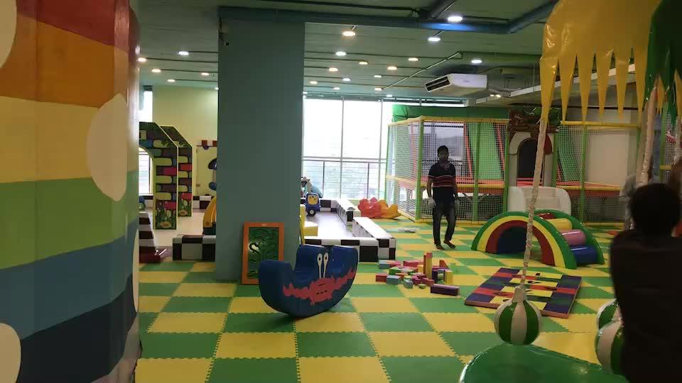 Geavanceerde Technologie Luxe Indoor Speeltuin Grote glijbaan